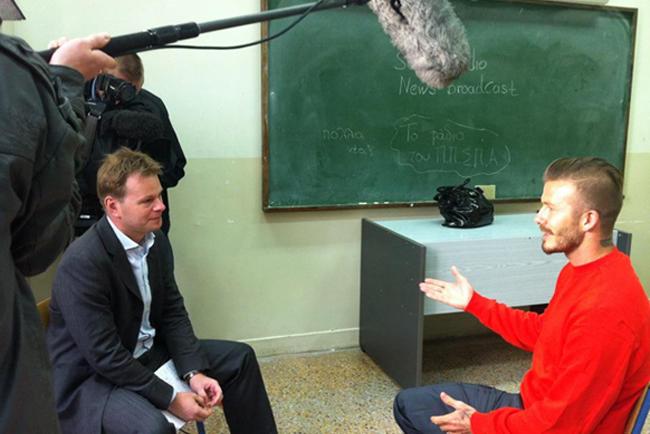 James Pearce interviews David Beckham